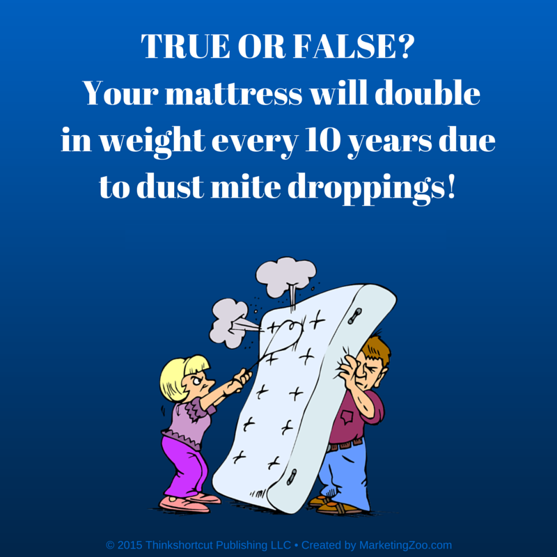 true or false about mattresses