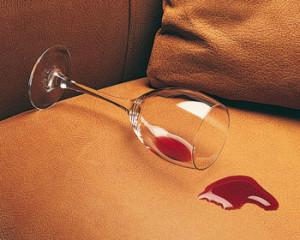 spill on upholstery